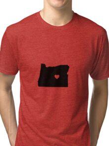 Oregon <3 Tri-blend T-Shirt