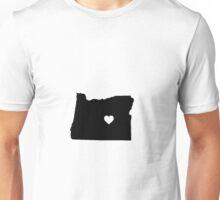Oregon <3 Unisex T-Shirt