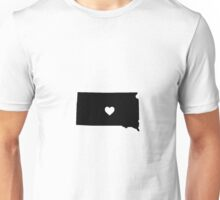 South dakota <3 Unisex T-Shirt