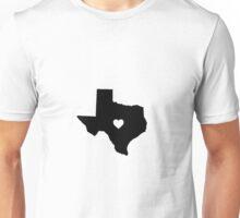Texas <3 Unisex T-Shirt