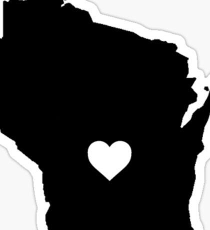 Wisconsin <3 Sticker