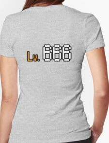 Level Triple Six. Womens Fitted T-Shirt