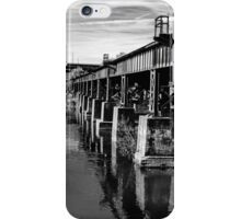 Bridge Over Troubled Waters ~ Black&White iPhone Case/Skin