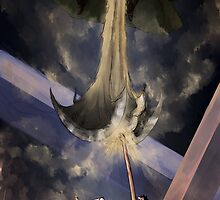 Luffy Vs Crocodile  by Deer-Head-Xiris