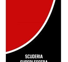 Scuderia Rosso Phone Case by superleggera