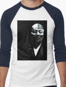 Left Brained  Men's Baseball ¾ T-Shirt