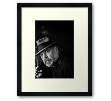 Jazz and a good cigar Framed Print
