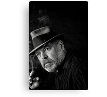 Jazz and a good cigar Canvas Print