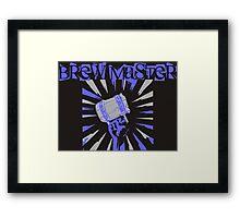 Brew Master Framed Print