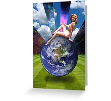 OUTTA THIS WORLD Greeting Card