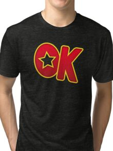 Shirt #34 / 100 - OK DK Tri-blend T-Shirt