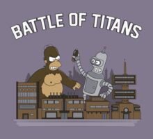 Battle of Titans by Creatiboom