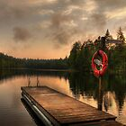 Sunset in Finland by Sandra Kemppainen