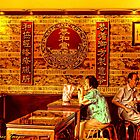 The Tea Shop in China Town by wallarooimages