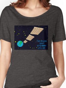 Belgium enters the Space race Women's Relaxed Fit T-Shirt