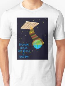 Belgian spaceship holding the world to ransome.  T-Shirt