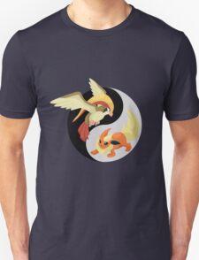 Pidgeot/Flareon Yin Yang T-Shirt
