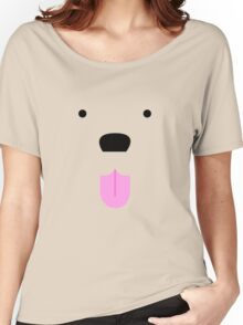 Shirt #42  / 100 - cute lil' tongue wag Women's Relaxed Fit T-Shirt