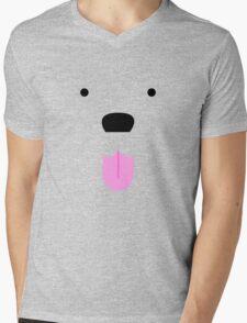 Shirt #42  / 100 - cute lil' tongue wag Mens V-Neck T-Shirt