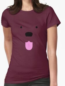 Shirt #42  / 100 - cute lil' tongue wag Womens Fitted T-Shirt