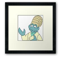 Why not Helix? Framed Print