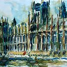 Houses of Parliament by Stefan Boettcher