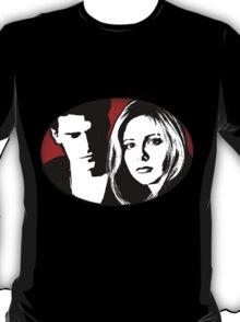Buffy/Angel Motif T-Shirt