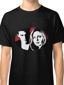 Buffy/Angel Motif Classic T-Shirt