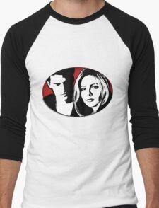 Buffy/Angel Motif Men's Baseball ¾ T-Shirt