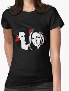 Buffy/Angel Motif Womens Fitted T-Shirt