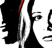 Buffy/Angel Motif Sticker