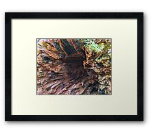 Underneath the Tree Base Framed Print