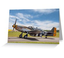 "TF-51D Mustang N251RJ 44-84847 CY-D ""Miss Velma"" Greeting Card"