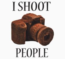 I Shoot People One Piece - Short Sleeve