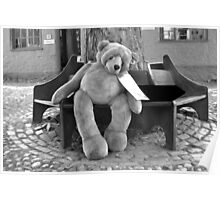 Lonely Teddy, Elm Hill  Poster