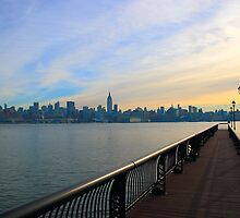 New Fishing Pier Hoboken NJ by pmarella