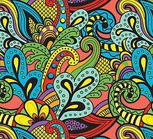 Retro Pattern by OlgaVarlamova
