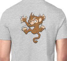 Monkey on My Back... Or Front Unisex T-Shirt