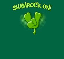 Shamrock On Unisex T-Shirt