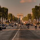 Early Morning Champes-Elysees - Version 2 © by © Hany G. Jadaa © Prince John Photography