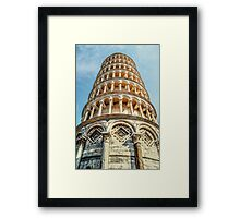Underneath the Tower Framed Print