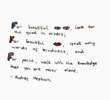 The Beauty of Audrey Hepburn by findserendipity