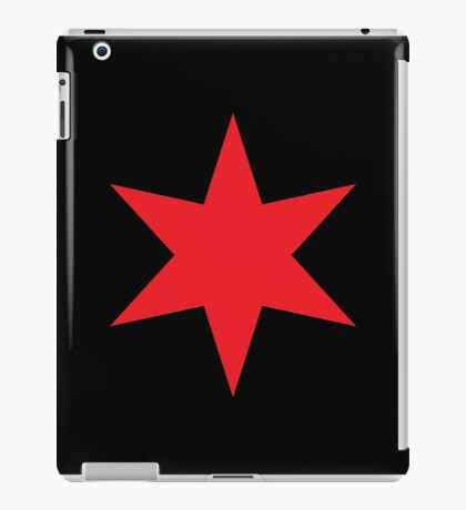 Chicago ✶ Star iPad Case (Black) iPad Case/Skin