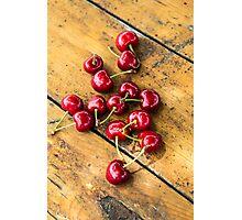 Fresh Cherry Photographic Print