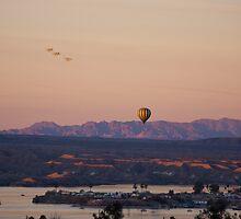 Morning Sunrise Over Havasu by Tina Hailey