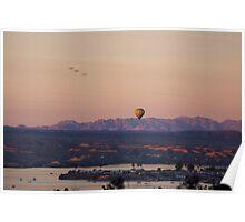 Morning Sunrise Over Havasu Poster
