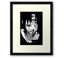 the uchiha brothers Framed Print