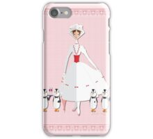 Holiday with Mary iPhone Case/Skin