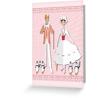 Holiday with Mary Greeting Card