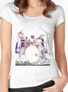drum Women's Fitted Scoop T-Shirt
